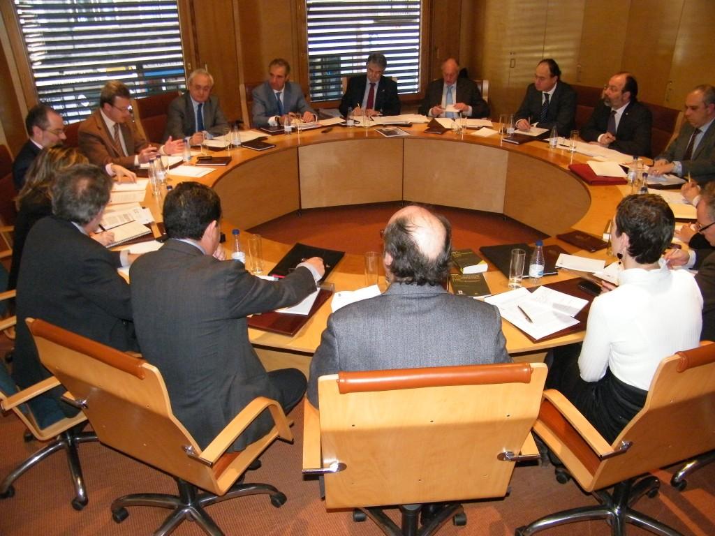 Pleno del Consejo de la Abogacía de Castilla y León