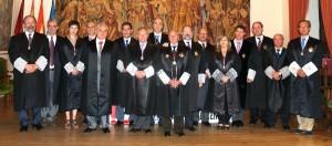 Los miembros del Pleno del Consejo