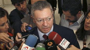 Dimite Gallardón - Imagen Telecinco