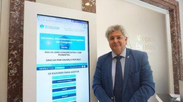 Eduardo Íscar, decano del Colegio de Abogados de Salamanca y coordinador del informe 'Abogacía Futura 2021'